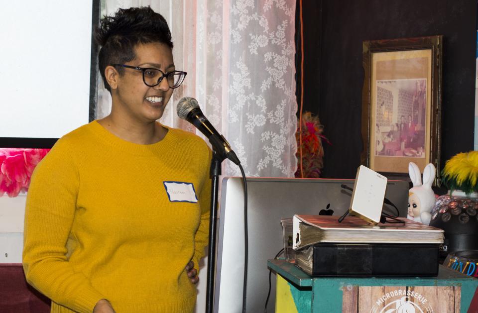 Nasreen Presenting